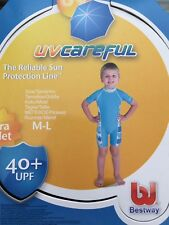 BESTWAY UV CAREFUL SWIM SUN SUIT BOYS UNISEX SIZE M-L 40 UPF