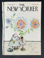 COVER ONLY ~ The New Yorker Magazine, November 20, 1978 ~ Ronald Searle