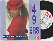 49ers Don't You Love Me Swedish 45PS 1990 Beat Box