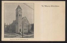 Postcard Carbondale Pennsylvania/Pa M.E. Methodist Episcopal Church view 1906