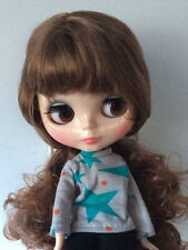 """Takara 12"""" Neo Blythe Joint Body Brown Hair Nude Doll  from Factory TBy376"""