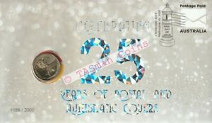 PNC Australia 2019 Celebrating 25 Years of PNCs RAM $1 Letter A Privy Mark Coin