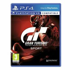 GRAN TURISMO GT SPORT PS4 PLAYSTATION 4 CAR RACING GAME VR VIRTUAL REALITY - NEW