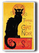 CHAT NOIR Magnet, Black Cat Chat Noir FRIDGE MAGNET JUMBO SIZE