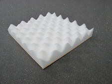 """ACOUSTIC FOAM SOUND PROOFING 24 TILES in white - (12"""" x 12"""" x 40mm)"""