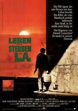 Leben und sterben in L. A. ORIGINAL A1 Kinoplakat Willem Dafoe / John Turturro