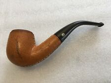 ESTATE JEANTET FULL BENT LEATHER WRAP PIPE~FRANCE