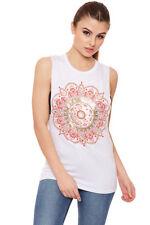 T-shirt, maglie e camicie da donna bianchi viscosi