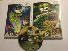 3 x NINTENDO Wii Jeux Ben 10 Protector Of Earth + Alien Force + Omniverse 2 PAL