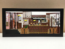 Cheers bar shadowbox diorama | Cheers merchandise gift for your diehard fan