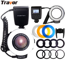 RF-550D Spedlight Macro Ring Flash Light for Nikon Canon Pentax Olympus Camera M