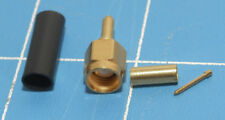 3) RF CONNECTOR AMPHENOL # 901-9511-3 SMA(m) to co-ax 12.4GHz 50 Ohm NEW