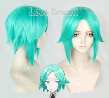 Land of the Lustrous Phosphophyllite green Anti-Alice Cosplay wig