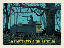 Dave Matthews & T 00004000 im Reynolds Poster 2017 Sugar Land Tx Signed & Numbered #755
