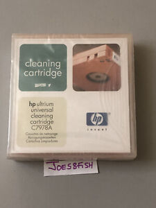 HP Ultrium LTO Universal Cleaning Cartridge C7978A New Sealed