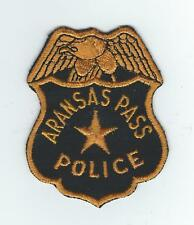 VINTAGE ARANSAS PASS, TEXAS POLICE (CHEESE CLOTH BACK) patch