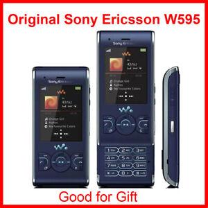 Sony Ericsson W595 Original Unlocked W595 FM Radio Bluetooth 3.15MP Camera