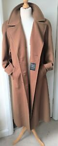 Vintage Marks & Spencer Wool Cashmere Oversize OverCoat Ladies Womens Size 14/16
