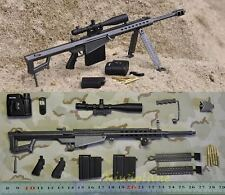 M82_10 1:6 Scale Action Figure BARRETT M82A1 M107 DELTA FORCE RIFLE GUN M82