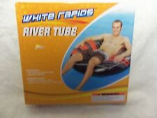 "White Rapids River Tube Water Float 42"" x 42"" x 12 ""(New)"