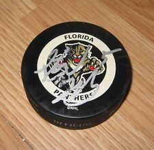 NHL Gary B. Bettman Florida Panthers Official Game Hockey Puck Only **READ**