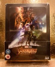 Steelbook Blu-ray Avengers Infinity War [ Zavvi Limited 2D/3D  ]- MARVEL