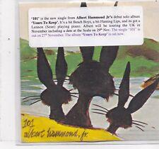 Albert Hammond Jr-101 promo cd single