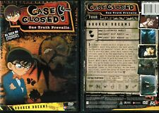 Case Closed  Season 4 Vol 4 Broken Dreams New Anime DVD Funimation Release