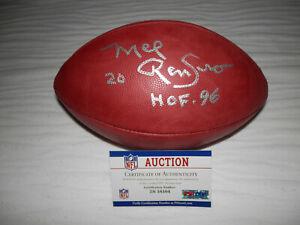 Mel Renfro Signed PSA/DNA Official NFL Wilson Football THE DUKE 100 YEARS Dallas