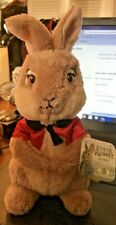 Brand New Peter Rabbit Plush Flopsy Easter Movie Bunny Gift Beatrix Potter