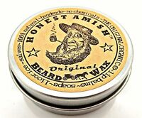 NEW Honest Amish Original Beard Wax  All Natural and Organic FREE SHIPPING