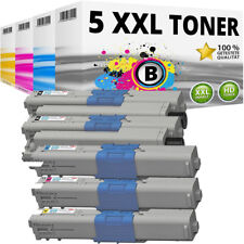 Set 5x XXL Toner für OKI C332 MC363 C332DN MC363DN kompatibel Patronen