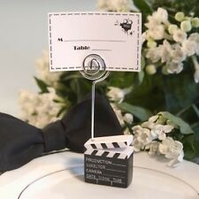 30 Clapboard Hollywood Place Card Photo Holder Wedding, Event Party Favors