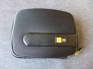 """Black Case Logic 3.5"""" GPS, iPod or Camera Hardshell Case"""