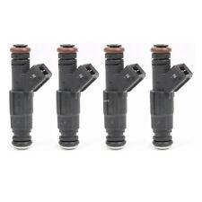 4 Pcs Set High Impedance EV1 Fuel Injectors for Ford BMW Audi Dodge & E85 1200cc