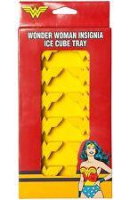 WONDER WOMAN LOGO - ICE CUBE TRAY NEW - DC COMICS Free Shipping!