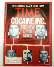 Time Magazine COCAINE INC Colombia Cali Cartel NARCOS Drug Kings July 1 1991