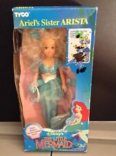 Disney's The Little Mermaid Ariel's Sister Arista Doll Tyco