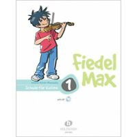 Fiedel Max 1 - Schule für Violine - mit CD