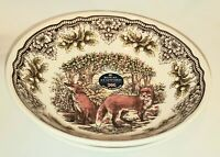 Royal Stafford England Woodland RED FOX  Soup Cereal Bowl x2- NEW