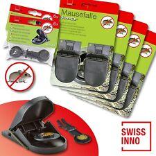 4 x 2 Stück Swissinno SuperCat Mausefalle + 2 x 6 Stück Ersatzköder