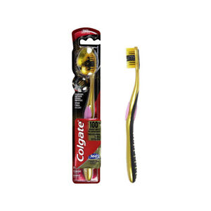 Colgate Toothbrush 360 Degree Charcoal Gold Soft