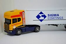 GUISVAL SCANIA 144 Truck & Trailer in SIGMA Coatings Livery Like Matchbox Convoy