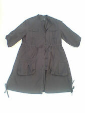 Marks & Spencer 'Limited Collection' Size 8 Black Raincoat