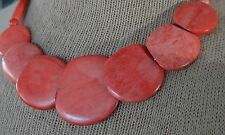 Vintage Coral Necklace sections