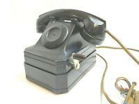 VTG/Antique Black STROMBERG-CARLSON Telephone - Hand Crank, No Dial - Rare/Cool!