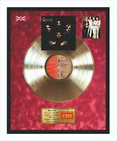 Queen II Goldene Schallplatte im Rahmen