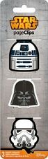 STAR WARS SAGA - MAGNETIC PAGE CLIPS - BRAND NEW 4610
