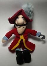 "Disney Store ""Captain Hook"" from Peter Pan Plush Mini Bean Bag MINT & RARE"