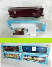 Märklin Maxi Spur 1 5487 US Box Car Union Pacific (U.P.) 105744 NEU OVP 4 achsig
